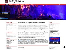 Informations- und Kommunikationsportal DJ-Night Jever